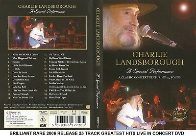 £6.99 • Buy Charlie Landsborough Live In Concert - Very Best 25 Greatest Hits RARE 2006 DVD