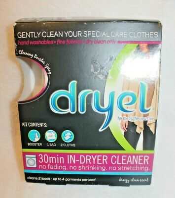 Dryel At-Home Dry Cleaning Starter Kit 30 Min In-Dryer Cleaner Original  • 17.45£