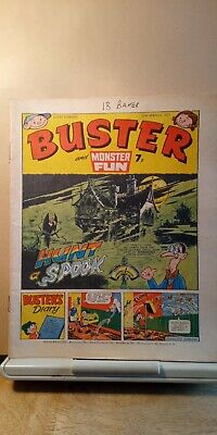 £1.50 • Buy Vintage Buster And Monster Fun Comic - 12th March 1977