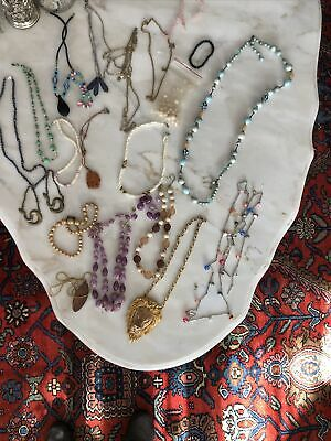 $ CDN39.59 • Buy Lot Of Vintage Necklaces And Bracelets Lots If Beaded Necklaces