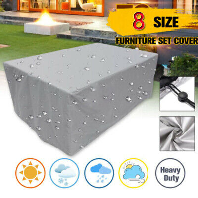 AU25.99 • Buy Furniture Cover For Sofa Waterproof Rain Oxford Cloth Garden Protective Cover