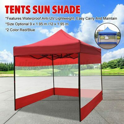 AU39.39 • Buy Outdoor Canopy Tent Cover Side Wall Sun Shade Shelter Gazebo Marquee Camping