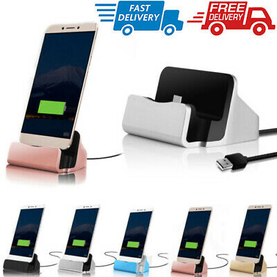 AU11.99 • Buy Type-C USB Desktop Charger Stand Dock Station Sync Charge Cradle For Samsung S9