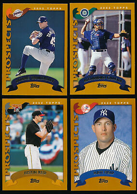 $0.99 • Buy 2002 Topps Traded And Rookies BB (#111-275) - You Pick - Complete Your Set (A06)