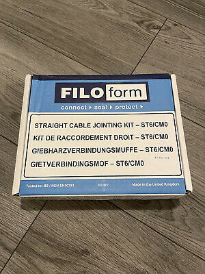 £12.50 • Buy FILOFORM - Straight 6 Cable Jointing Kit - ST6/CM0 - NEW