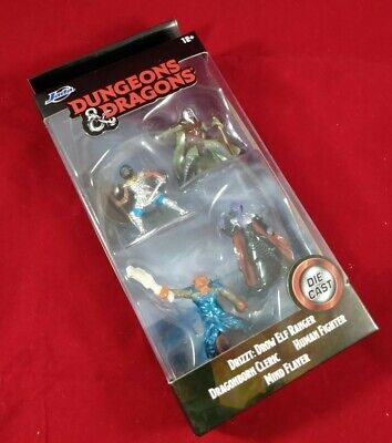 AU0.01 • Buy Dungeons And Dragons Jada Toys Nano Metal Figurines Diecast Starter Pack D&D