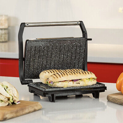 £26.09 • Buy Tower Non-stick Mini Panini Grill & Press Stainless Steel Toastie Sandwich Maker