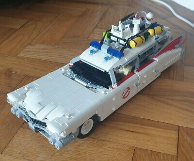 LEGO Ghostbusters Car ECTO-1 (My Own Design) • 40£