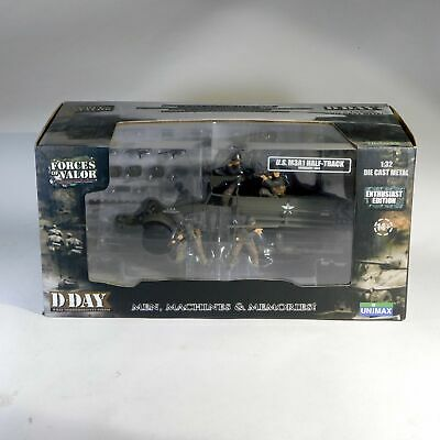 $79.99 • Buy Forces Of Valor 1/32 US Army M3A1 Half Track APC Normandy 1944 81009 HMC