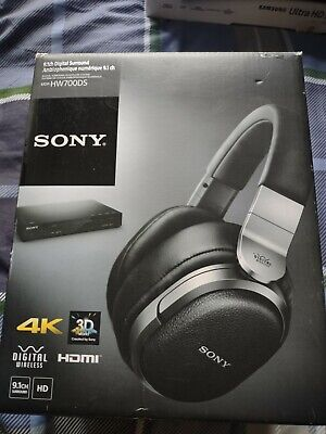 AU91.23 • Buy Sony MDR-HW700DS 9.1 Channel Surround Sound Headphones