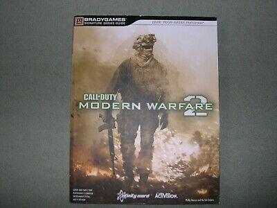 Bradygames - Official Strategy Guide - Call Of Duty Modern Warfare 2 - PS3  XBox • 1.25£