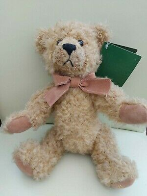 Harrods Teddy Bear With Movable Joints And Tags • 5.50£