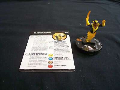 £65 • Buy DC Heroclix Justice League Unlimited JLU - BLACK VULCAN #072 Chaser Chase Rare