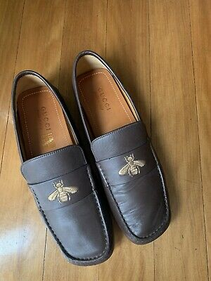 AU290 • Buy Gucci Driver Moccasin With Bee Size 8