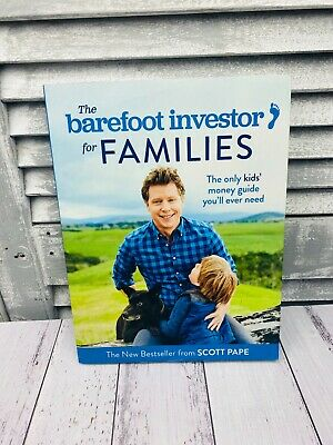 AU28 • Buy The Barefoot Investor For Families Book By Scott Pape
