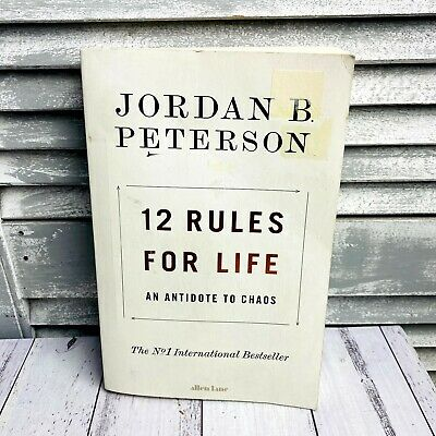 AU22 • Buy 12 Rules For Life: An Antidote To Chaos - Book By Jordan Peterson