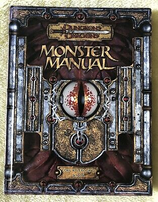 AU79.99 • Buy Dungeons & Dragons Monster Manual Core Rulebook III V.3.5 LIKE NEW D&D HC
