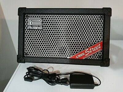 AU502.29 • Buy Roland Cube Street Guitar Amp. Mic Inputs And Lots Of Controls. FREE Shipping.