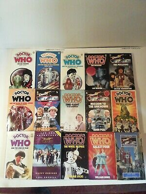 Vintage Dr Who Paperbacks Job Lot *15 • 68£