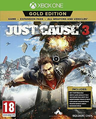 £13.99 • Buy Just Cause 3 - Gold Edition Xbox One - New And Sealed