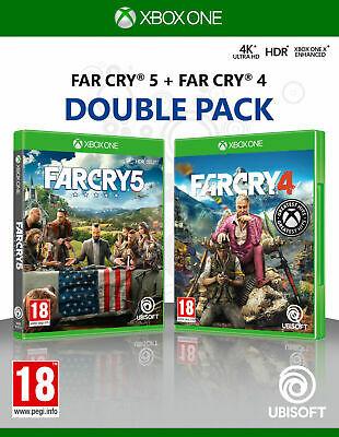AU39.34 • Buy Far Cry 4 & Far Cry 5 Double Pack Xbox One - New And Sealed