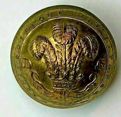£13.38 • Buy 19thc Victorian  3rd Dragoon Guards Tunic Button 23 Mm Domed By Jennens & Co