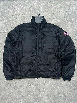 Canada Goose Black Lodge Packable Jacket In Large 100% Authentic  • 300£