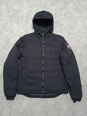 Mens Canada Goose Lodge Hooded Down Jacket Black 100% Authentic  • 320£