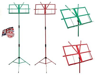 £9.99 • Buy Heavy Duty Folding Sheet Music Stand Holder Base Tripod Orchestral Conductor