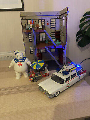 PLAYMOBIL 9219 9220 9222 Ghostbusters Fire Headquarters, Ecto 1 & Hot Dog Stand • 0.99£