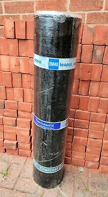 £40 • Buy  BMI Icopal Thermaweld Torch On Roofing Felt 45kg Mineral Cap Sheet Charcoal 7m