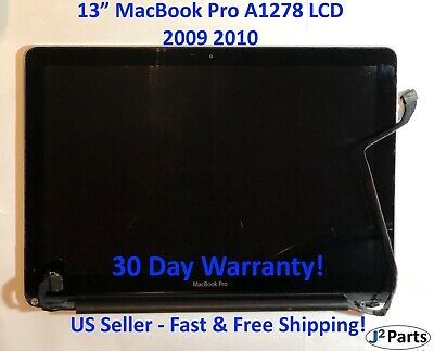 $89.99 • Buy Grade B- Genuine MacBook Pro A1278 13  2009 2010 Complete LCD Screen Assembly