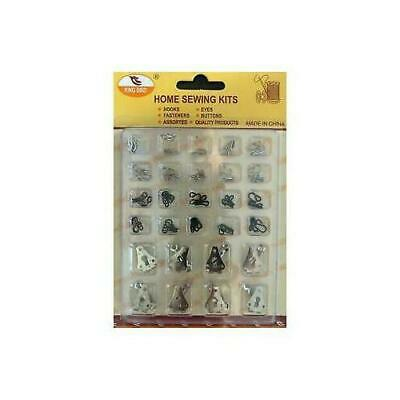 £3.99 • Buy Sew On Trouser Hooks And Bars For Trousers Or Skirts Pans Fastener Replacement