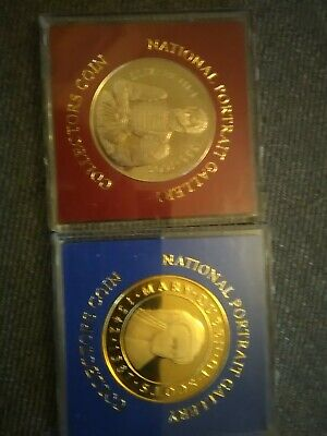 Medals National Portrait Gallery Elizabeth I Mary Queen Of Scots • 5£