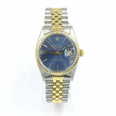 AU4469.06 • Buy Vintage Rolex Oyster Perpetual Datejust 16013 Wristwatch 18k Gold Stainless 1982