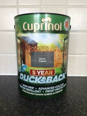 Garden Paint. Cuprinol Paint For Shed/fence In Grey. Shade: Silver Copse. 5 L • 17£