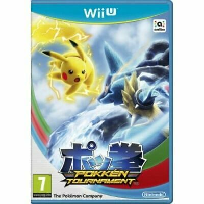 $40.33 • Buy Pokken Tournament Wii U - New And Sealed