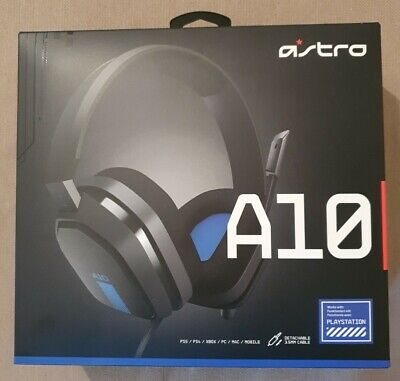 £25 • Buy Astro A10 Grey Blue Gaming Headset (new In Box Sealed)