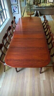 AU1350 • Buy Diningtable Mahogany Extendable & Chairs