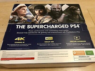 AU499 • Buy Sony PS4 PRO CONSOLE *IN STOCK* BRAND NEW Unopened Complete Controller Cables