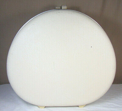 View Details Vintage Samsonite Royal Traveller Round Hat Box Suitcase • 54.99$