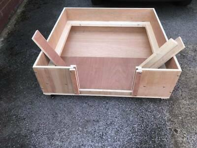 Whelping Box 90 Cm X 90 Including Flat Pack Postage • 110£