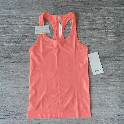 $ CDN84.63 • Buy Lululemon Swiftly Tech Racerback 2.0 Tank Top Women's Size 4 Sunset NWT