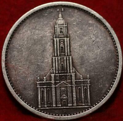 AU9.66 • Buy 1934 Germany 5 Reichsmark Silver Foreign Coin
