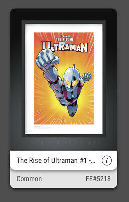 $9.99 • Buy THE RISE OF ULTRAMAN #1 FA#5218 Ed McGuinness *SOLD OUT!*  VEVE NFT BUY IT NOW!!