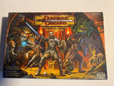 AU300.66 • Buy Dungeons & Dragons The Fantasy Adventure Board Game***complete***