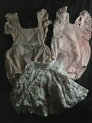AU0.99 • Buy Baby Girl Clothing Clothes 000 0-3 Month Bulk Lot