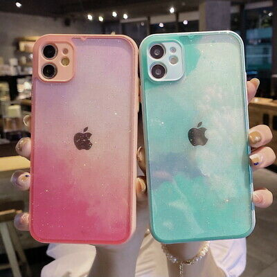 AU5.60 • Buy Glitter Bling Clear Case Cover For IPhone 12 Mini 11 Pro Max SE XR XS X 7 8 Plus