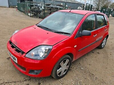 Ford Fiesta Zetec Climate 2006 Red 1.25 Petrol • 695£