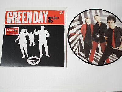 £25 • Buy Green Day - American Idiot - 7  Rare Picture Disc Single 2004 Nr Mint